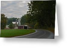 Jackson's Sawmill Covered Bridge Greeting Card