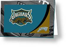 Jacksonville Jaguars Greeting Card by Joe Hamilton