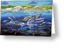 Jacksonville Kingfish Off0088 Greeting Card