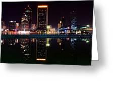 Jacksonville Panoramic Greeting Card