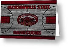 Jacksonville State Gamecocks Greeting Card