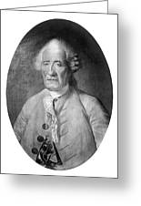 Jacques De Vaucanson (1709-1782) Greeting Card