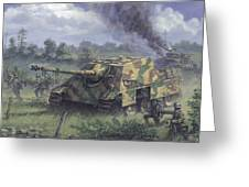 Jagdpanther In Normandy 1944 Greeting Card