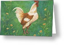 Jagger The Rooster Greeting Card