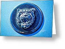Jaguar Emblem -0056c Greeting Card