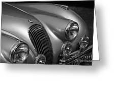 Jaguar Xk 120 Greeting Card