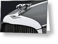 Jaguar Mk Ix Hood Greeting Card