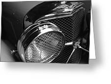 Jaguar Ss Angled Front Greeting Card