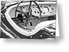 Jaguar Steering Wheel 2 Greeting Card