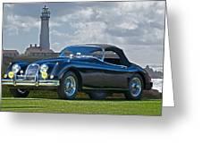 Jaguar Xk120 Roadster Greeting Card