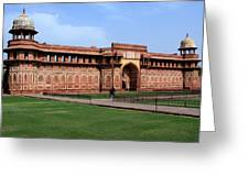 Jahangir Palace Red Fort Agra Greeting Card