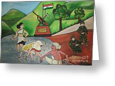 Jai Jawan Jai Kisan Greeting Card