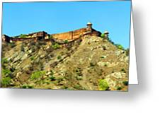 Jaigarh Fort Greeting Card