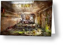 Jail - Eastern State Penitentiary - The Mess Hall  Greeting Card
