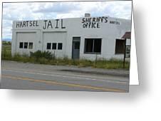 Jail Greeting Card