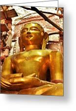 Jain Temple Amarkantak India Greeting Card