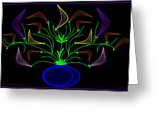 Jais' Koddy Leaf Greeting Card