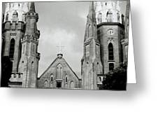 Jakarta Cathedral  Greeting Card