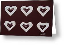Jam-filled Cookies Greeting Card
