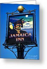 Jamaica Inn On Bodmin Moor Greeting Card
