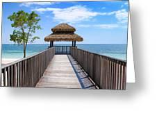 Jamaican Paradise Greeting Card