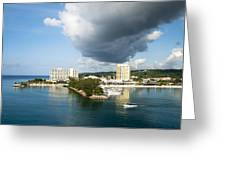 Jamaican Vacation Greeting Card