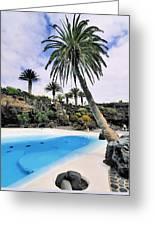Jameos Del Agua On Lanzarote Greeting Card