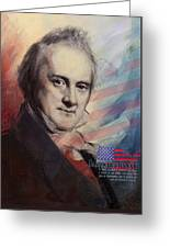 James Buchanan Greeting Card