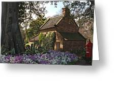 James Cook's Cottage Greeting Card