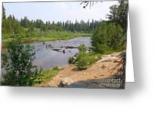 James Creek Pond Greeting Card