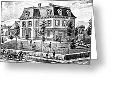 James Holly Residence Greeting Card