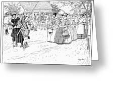 Jamestown Women, 1621 Greeting Card