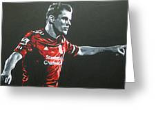 Jamie Carragher - Liverpool Fc Greeting Card