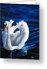 Jamie's Swan Greeting Card