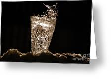 Jammer Crystal Ice Torch  Greeting Card