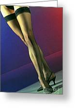 Jane Legs 1-1 Greeting Card