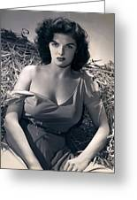 Jane Russell Greeting Card