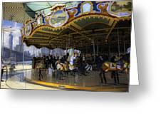Jane's Carousel 1 In Dumbo Greeting Card