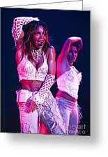 Janet Jackson-05 Greeting Card