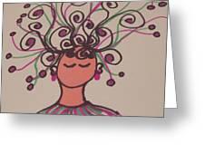 Jangle Girl Greeting Card