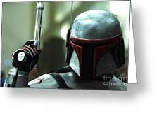 Jango Fett Greeting Card