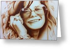 Janis Greeting Card