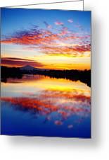 Jantzen Beach Sunrise Greeting Card