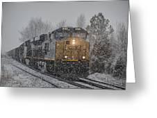 January 23. 2015 - Csx T103-3 Greeting Card