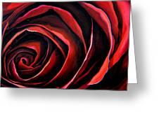 January Rose Greeting Card