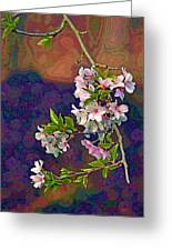 Japanese Cherry Blossom Branch Greeting Card