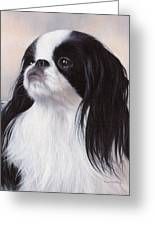 Japanese Chin Painting Greeting Card