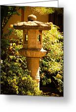 Oriental Lantern Greeting Card