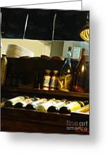 Japanese Kitchen And Sake Selection Greeting Card