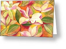 Japanese Magnolia Greeting Card